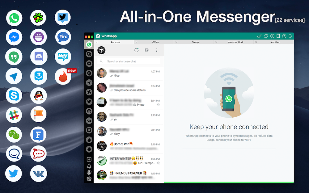 One Chat – All-in-One Messenger | AppYogi Software